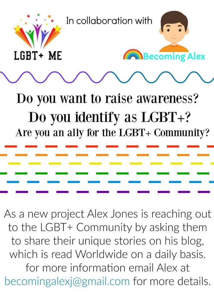 LGBT+ Me Project Flyer